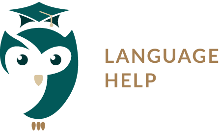 Language help logo